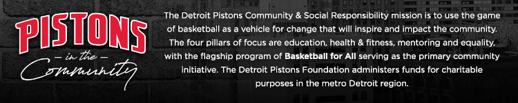 Pistons in the Community